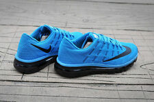 NEW Nike Air Max 2016 Men' Running Shoes Blue With Black Logo