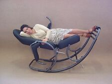 Universal Mechanical Swing, Rocking Chair. Fabric Terracotta
