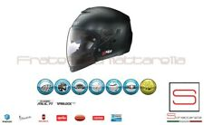 Casco Jet Integrale Crossover Grex Flat Black Nero Opaco G4.1 Pro Kinetic
