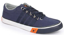 Sparx Brand Mens Navy Casual Canvas Sneakers Shoes SM162 size 11