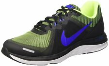 Nike Brand Mens Original Dual Fusion Black Lime Sports Shoes