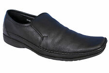 EGOSS BRAND BLACK SLIPONS SOFT LEATHER CASUAL FORMAL SHOES 142 SIZE 12 & 13