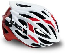 Kask Mojito Road Bike Cycling Helmet - White/Red