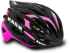 Kask Mojito Road Bike Cycling Helmet - Black/Pink - Fuschia