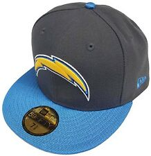 New Era NFL San Diego Chargers Ballistic VIsor Cap 59fifty Fitted Basecap 5950