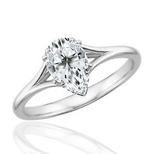 Silver Dew Solitaire Fashion And Pleasing Ring In 925 Sterling Silver For Her