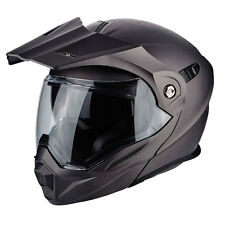 Casco apribile Scorpion Adx-1 antracite modulare adventure touring con frontino