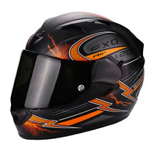 Casco Helmet Scorpion Exo 1200 Fulgur black matt orange 45-219-168