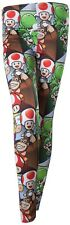 Super Mario and Friends Characters Leggings | Official Gaming Merchandise [New]