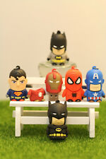 New Cute Cartoon Superheroes Pen/Flash Drive Storage Gift Memory Stick USB 2.0
