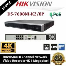 HIKVISION DS-7608NI-E2/8P 8Channel POE NVR IP CCTV Camera Up to 8MP Surveillance