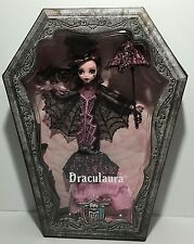 Monster High DRACULAURA Collector Doll Black Pink Fashion Mermaid Dress - NEW