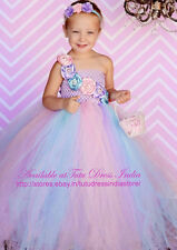 LAVENDER TUTU DRESS FOR GIRL INFANTS - BIRTHDAY, PARTY, FREE HEADBAND