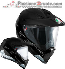 Casco integrale Agv AX8 Ax-8 dual evo wild frontier nero black cross enduro