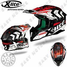 CASCO CROSS ENDURO MOTARD X-LITE X-502 ULTRA CARBON NAC-NAC 3 CARBON