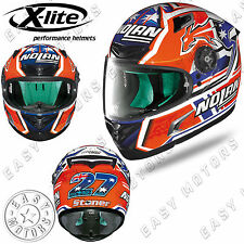 CASCO INTEGRALE FULL FACE X-LITE X-802RR REPLICA 106 C.STONER SUZUKA - WHITE