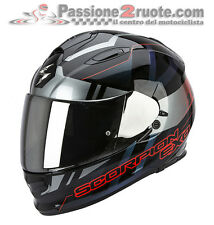 Casco integrale moto Scorpion Exo 510 Air Stage nero argento