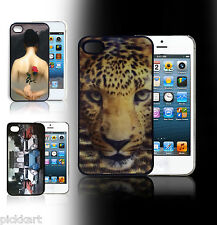 3D Attractive&Stylish visual Effect Skin Hard Back Case Cover For Apple iPhone 4