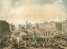 Poster / Leinwandbild Covent Garden, London - Thomas Rowlandson