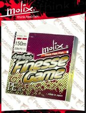 tressé PE Molix Super Finesse game braid mt 150