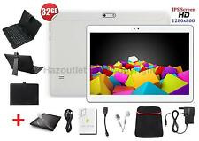 "10.1"" Tablet PC With Keyboard Option 32GB Android Quad Core IPS SCREEN 1280x800"