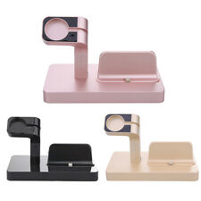 Charging Dock Stand Station Charger Holder for Apple Watch iWatch iPhone 7/6S/6