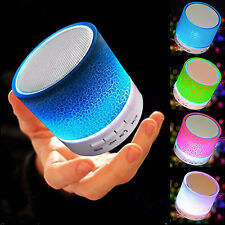 MINI Wireless Bluetooth Speaker Portable Subwoofer LED Colorful Handsfree Call