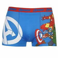 MENS MARVEL COMICS AVENGER IRONMAN BOXERS BOXER SHORTS UNDERWEAR TRUNKS PANTS