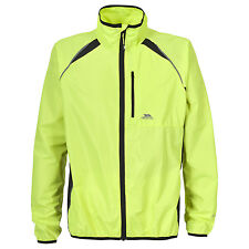 Trespass WINDBLOC Mens Hi Viz Windproof Lightweight Running Cycling Coat Jacket