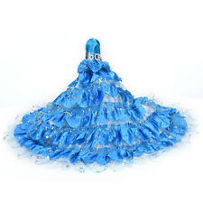 Hot Barbie Doll Fashion Handmade Clothes Dress Different Style For Kids FG