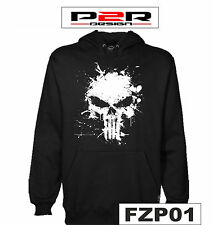 Felpa The Punisher film serie tv comics hoodie sweatshirt FZP01