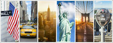 Poster / Leinwandbild New York City Panorama Fotocollage - Jan Christopher Becke