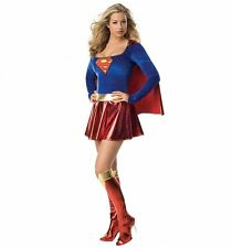 Official Women's Supergirl Fancy Dress Costume
