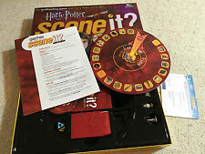 HARRY POTTER SCENE IT BOARD GAME DVD OPTREVE COMPLETE