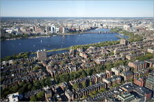 Poster / Leinwandbild Aerial view of Boston from t... - R. Harding Productions