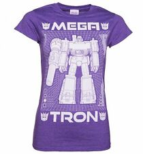 Official Women's Transformers Megatron Blueprint T-Shirt