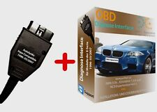 BMW DIAGNOSE INTERFACE OBD2 für EDIABAS INPA als Komplettsoftware E60/39 E46 E53