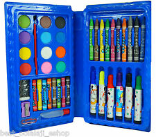 42 Piece Art Set (PCS Color SET, Crayons, Oil Pastel, Sketch Pens, Water Color)