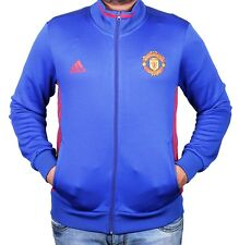 Manchester United Jersey / Jackets / Zippers (Blue)
