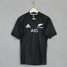 Adidas New Zealand All Blacks 2017 Home Rugby Jersey Black Sizes S-3XL