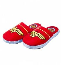 Official Women's DC Comics Wonder Woman Slip On Slippers