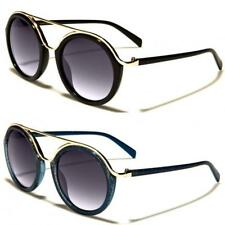 New Womens Ladies Fashion Retro Metal Round Sunglasses Designer UV400 OL27