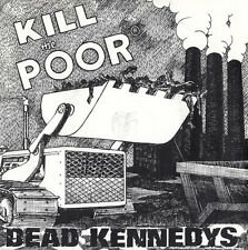 """Dead Kennedys 7"""" vinyl single record Kill The Poor UK CHERRY16 CHERRY RED 1980"""