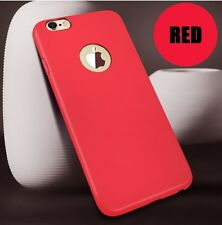 Luxury Rubber Skin Ultra Slim Soft Silicone Back Cover Case For iPhone 6 6s
