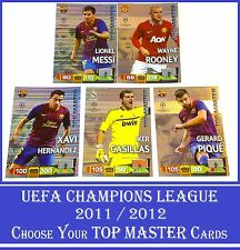 Choose Adrenalyn XL 2011/12 UEFA Champions League 2012 TOP MASTER 11 12 Cards