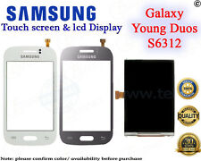 Samsung Galaxy Young Duos S6312 Digitizer Front TouchScreen Glass/LCD Display
