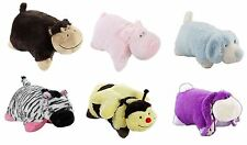 Pillow Pets Bumbly Bee, Wiggly Pig,  Silly Monkey, Zippity Zebra Plush Cushion