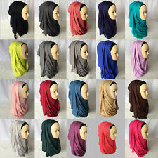 Muslim Headscarf Women Winter Scarves Cotton Long Hijab Islamic Scarf Headwear