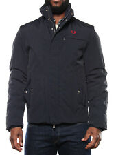 FRED PERRY 30732072 BLU giacca invernale uomo