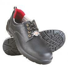 Liberty Warrior Brand Men Black Safety Shoes Steel Toe/Oil/ Acid/Restiant 7198